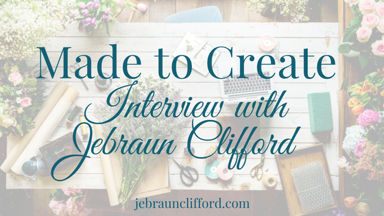 Made to Create Interview with Jebraun Clifford