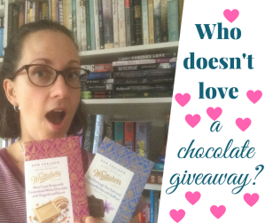 A chocolate giveaway