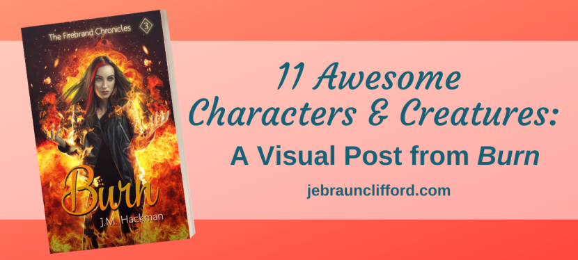 11 Awesome Characters and Creatures: a Visual Post from Burn